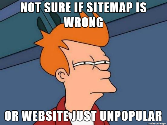 meme about how to create sitemaps